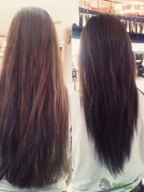 Стрижки прически длинных волос