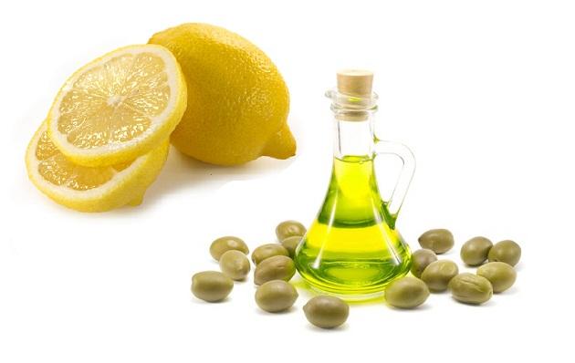 лимон и масло для волос