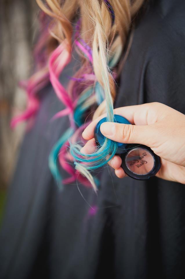 тени для волос