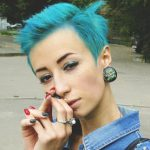 Необычный цвет волос: эксперименты Ксенивы Бойко