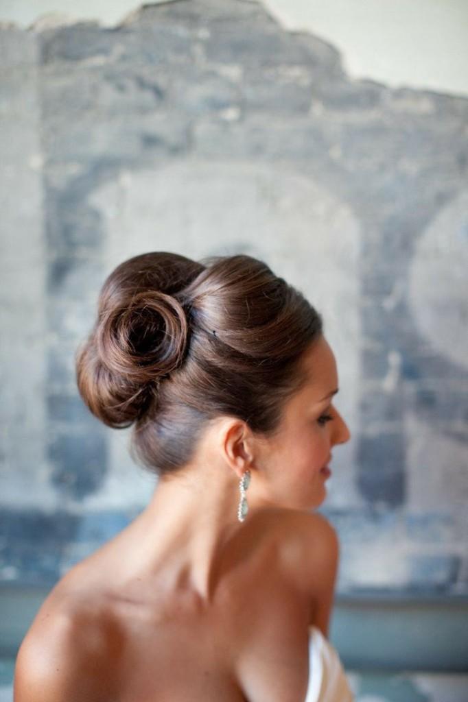 свадебная прическа для длинных волос фото 11