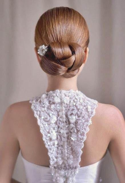 свадебная прическа для длинных волос фото 2