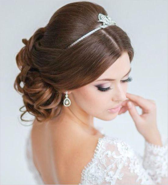 свадебная прическа для длинных волос фото 10