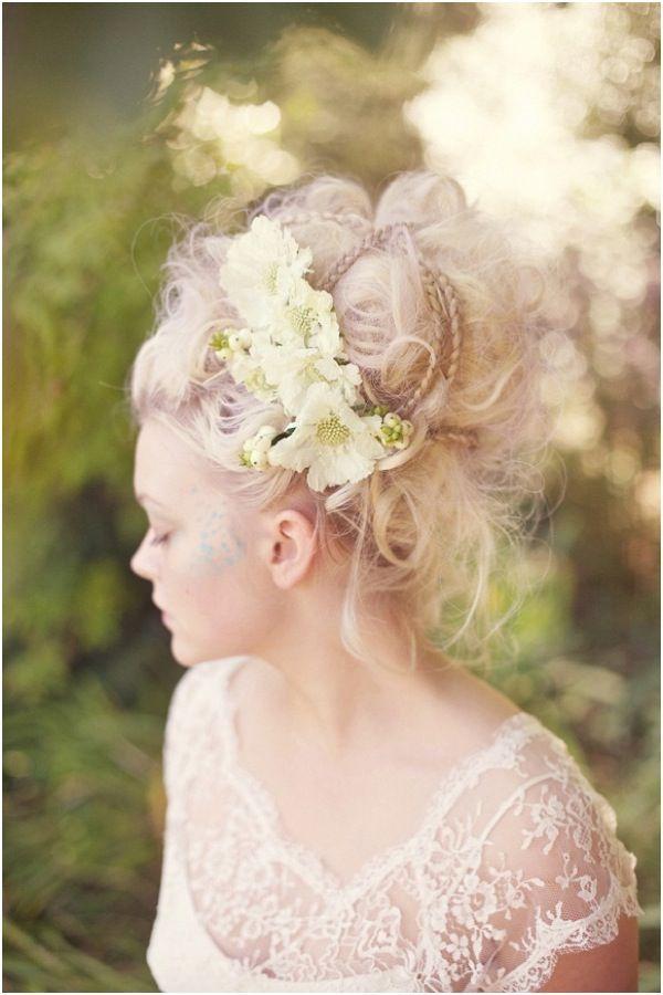свадебная прическа для длинных волос фото 19
