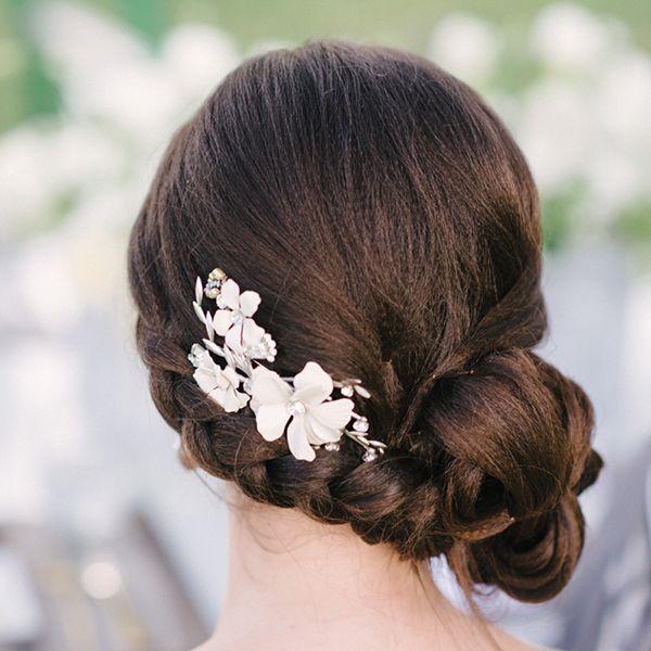 свадебная прическа для длинных волос фото 8