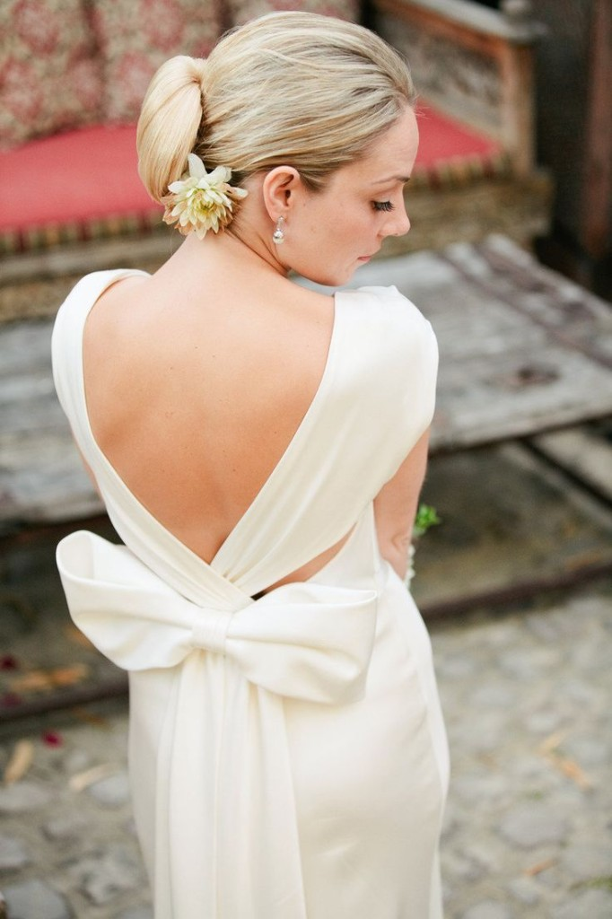 свадебная прическа для длинных волос фото 6