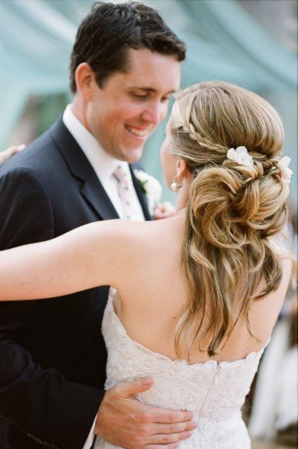 свадебная прическа для длинных волос фото 20