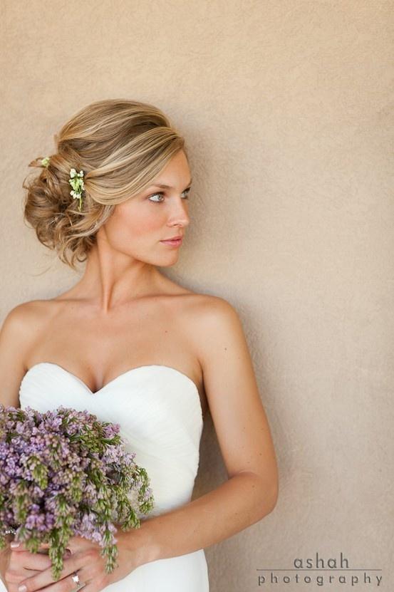свадебная прическа для длинных волос фото 7