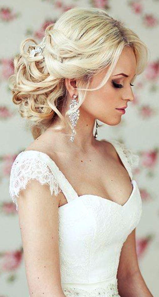 свадебная прическа для длинных волос фото 17