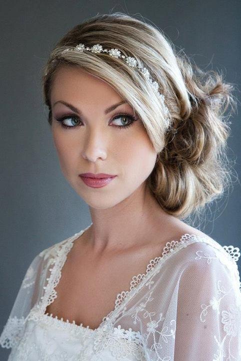 свадебная прическа для длинных волос фото 4