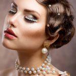 Роскошный образ! Жемчуг в украшении прически, макияже и бижутерии просто удивительно нежен!