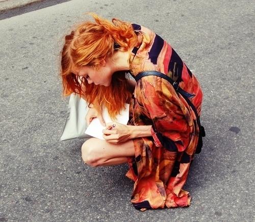 red hair photo 9