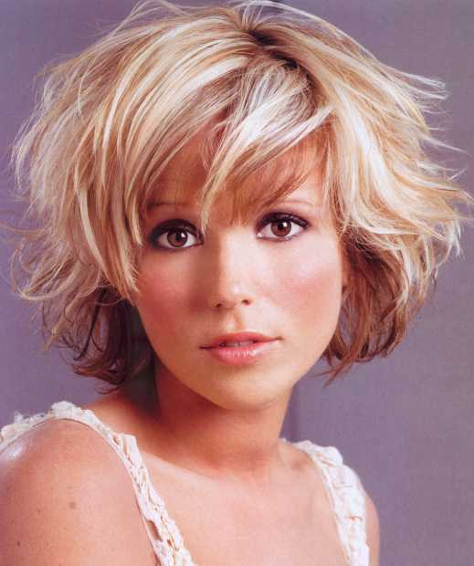 Cute Short Hairstyles Wavy Hair