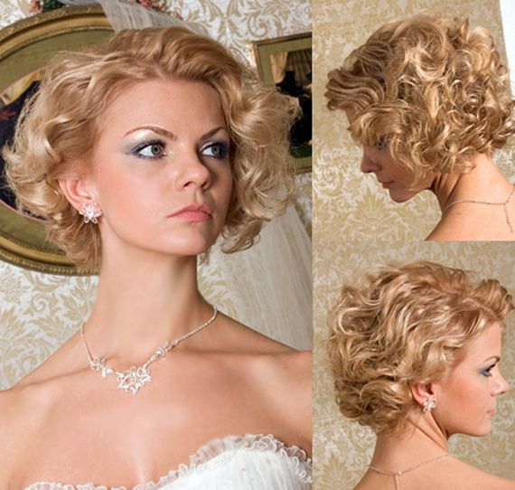 vintage hairstyles for bride 2016