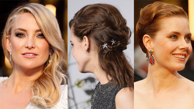 hairstyles stars Oscar 2014