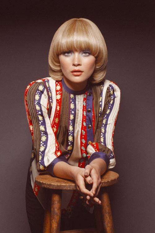 прическа 1970-х