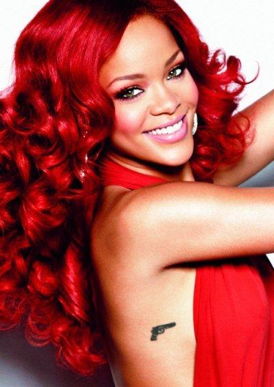 красим волосы хной красный