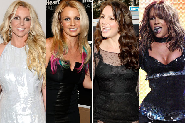 britney spears with different hair color