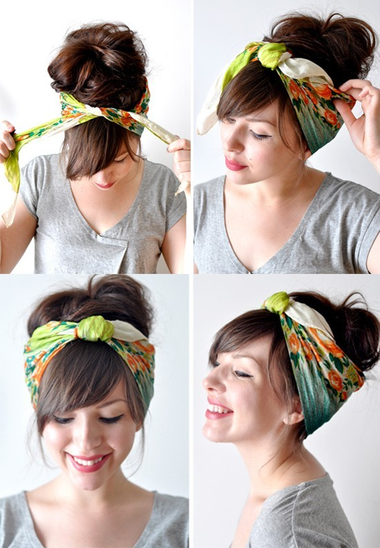 cute-way-to-wear-a-bandana