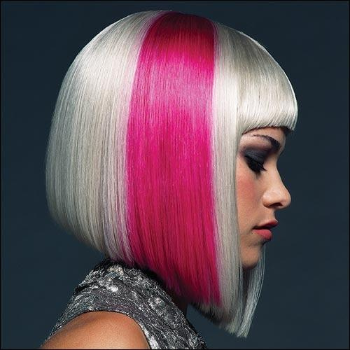 platinum-pink-bob-haircut