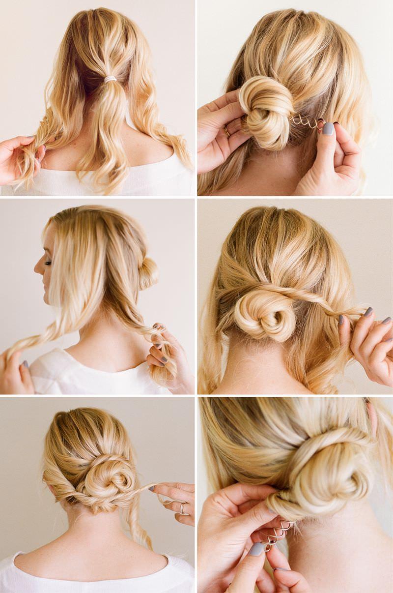 Как красиво собрать длинные волосы на каждый