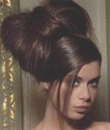 прическа бант из волос14