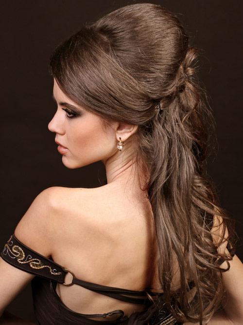 вечерние прически на длинные волосы10