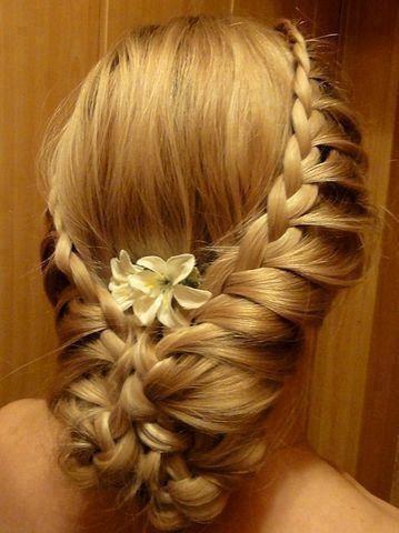 greece hair braid