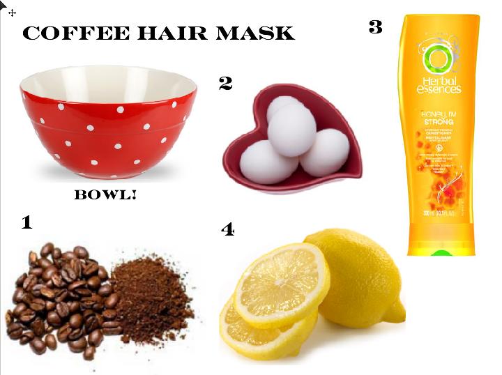 кофейные маски для волос