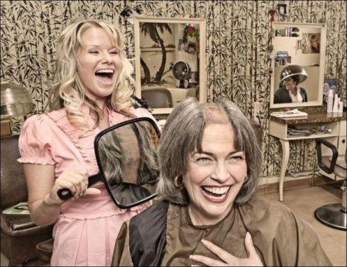 любимый парикмахер