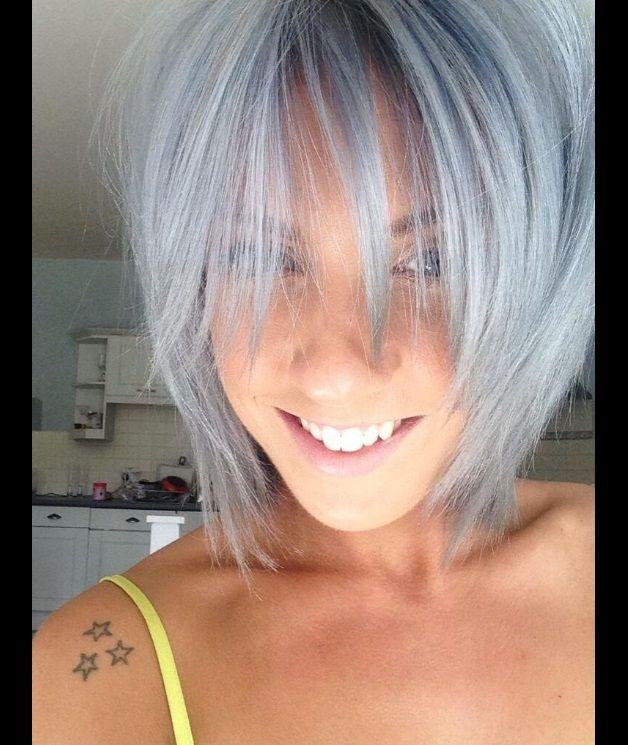 седой цвет волос фото 1