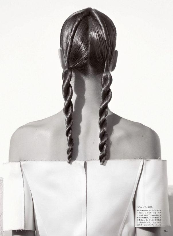 прическа на длинные волосы фото 11