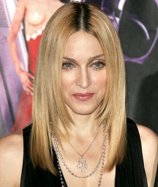 Мадонна стрижка