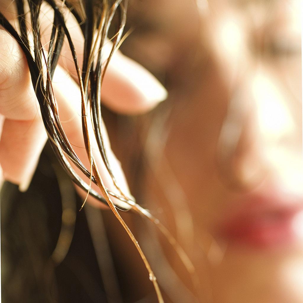 жирные волосы что делать