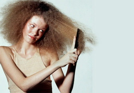 Сухие волосы что делать