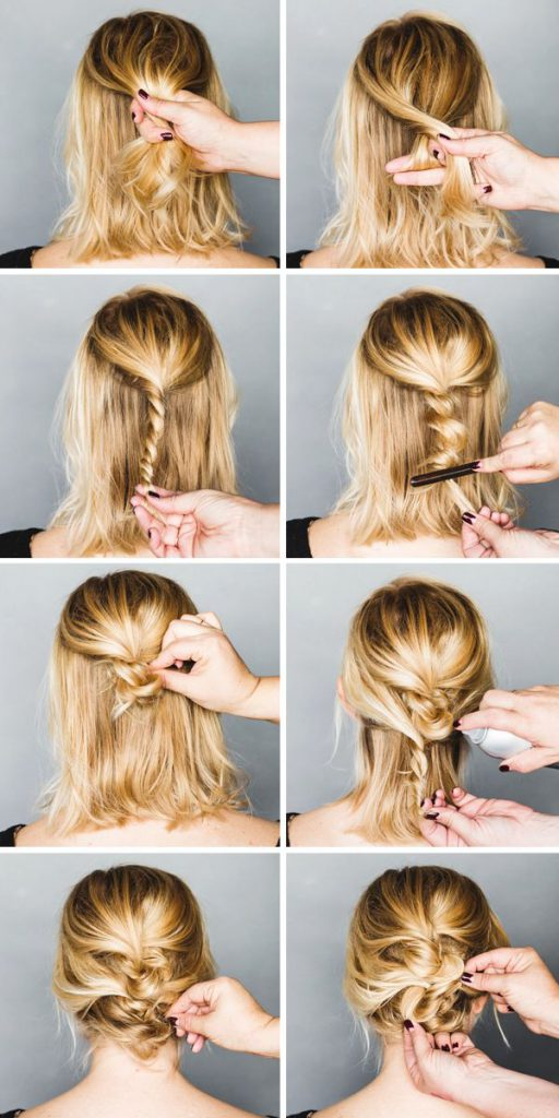 как сделать косу на толстолоба