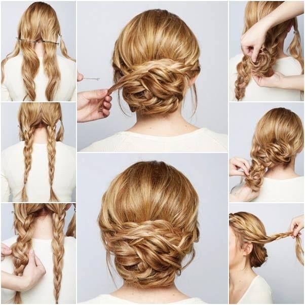 Плетение кос на работе