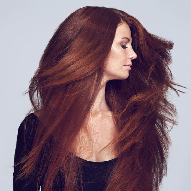 шикарные рыжие волосы