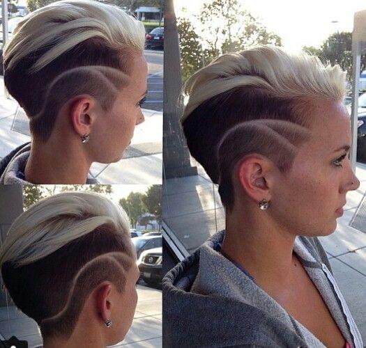 художественный выстриг волос