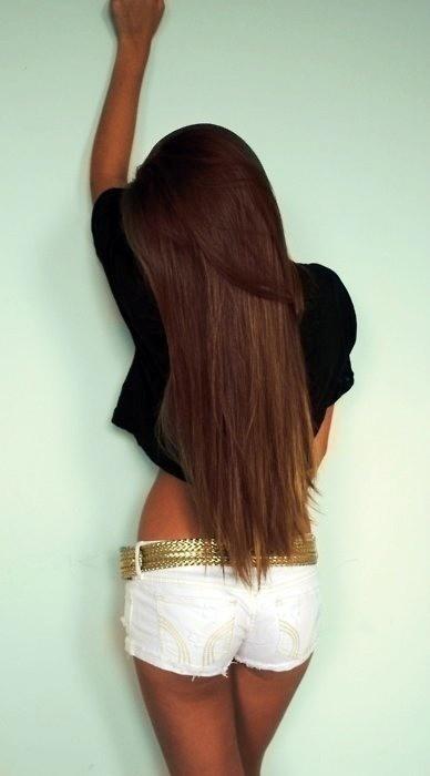 Брюнетки с длинными волосами фото