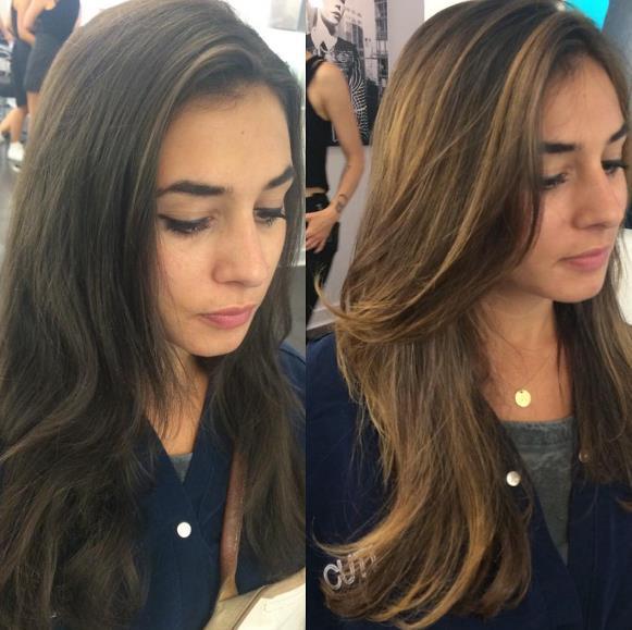 Новый метод окрашивания волос