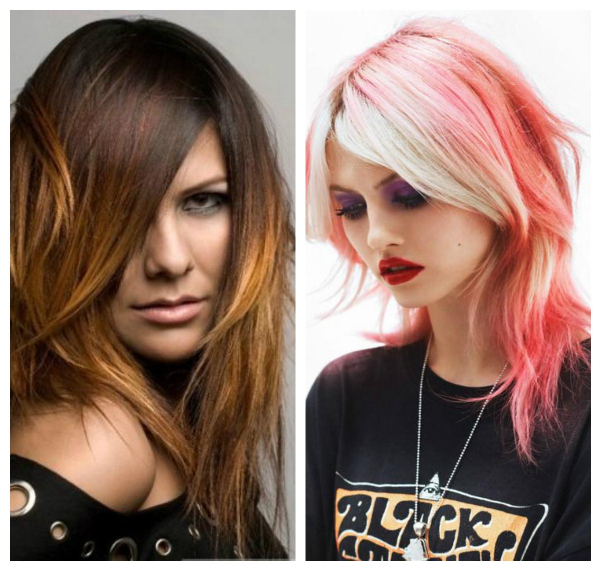 Покраска волос в два цвета: фото 9