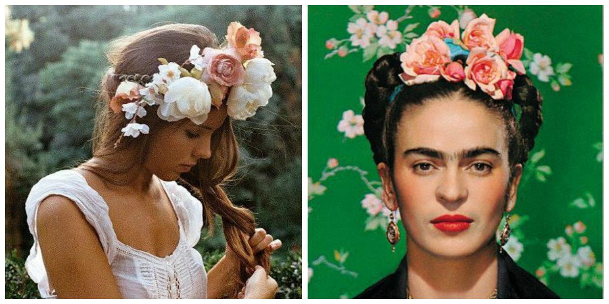 худшие аксессуары для волос: искусственные цветы