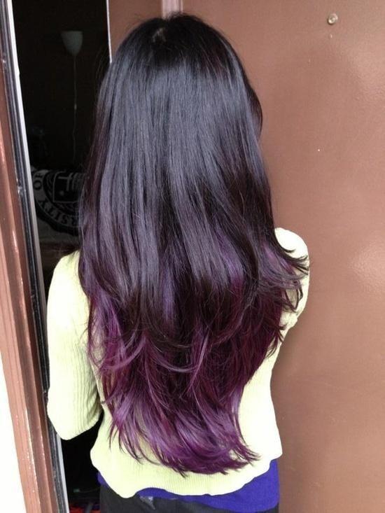 Покраска волос в два цвета: фото 16