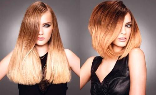 Покраска волос в два цвета: фото 25