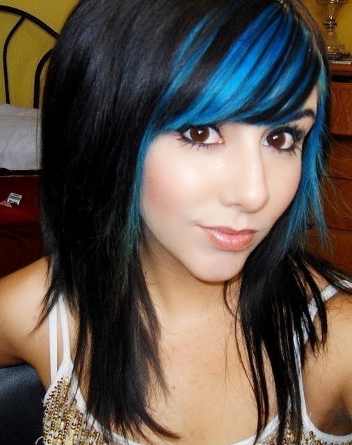 Покраска волос в два цвета: фото 19