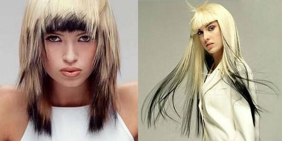 Покраска волос в два цвета: фото 22