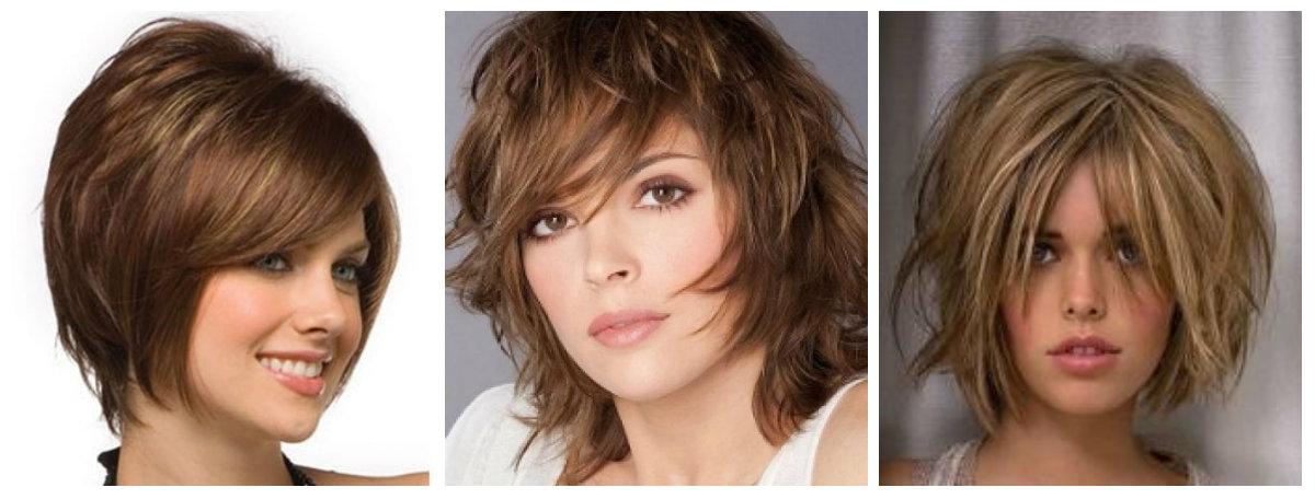 Объемные прически для коротких волос: фото 1
