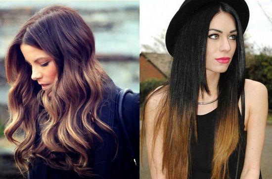 Покраска волос в два цвета: фото 27