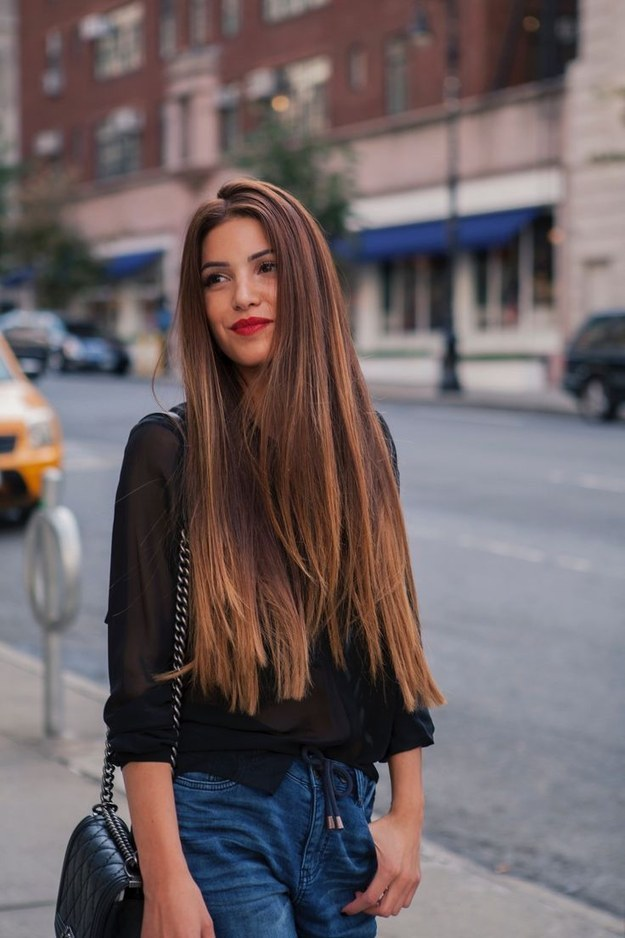 Распущенные волосы: фото 19